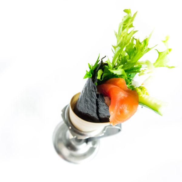 Handy  Roll ( temaki sushi)