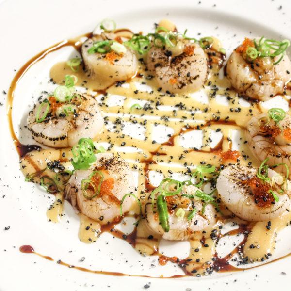 New Style Scallop Sashimi